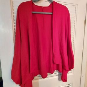 Red Shrug/Shawl